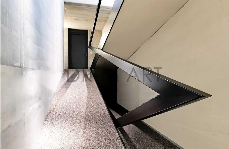 Dr m art modern interieur in metaal